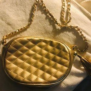 Chateau gold purse